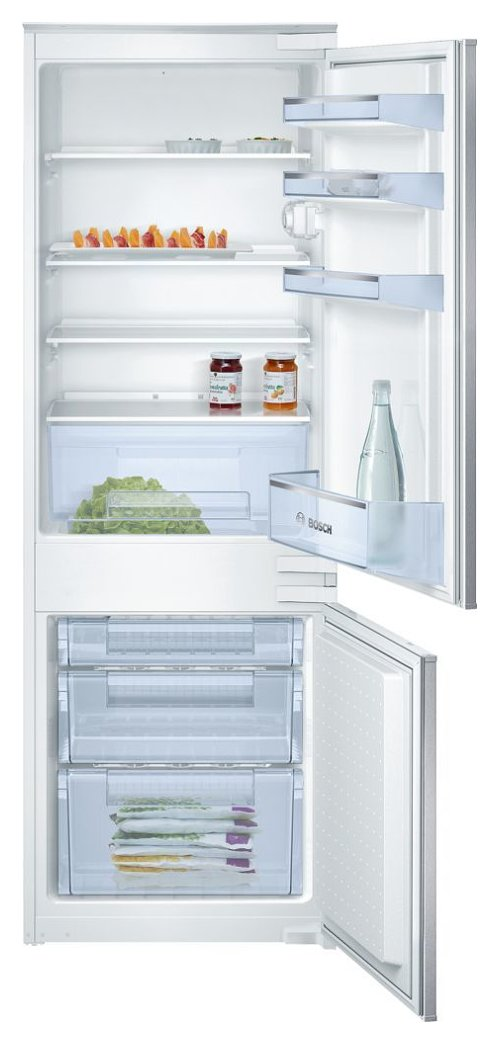 Photos 1: Bosch KIV28V20FF Serie 2 Built-in refrigerator-freezer cm. 54 h 158 - 234 lt.