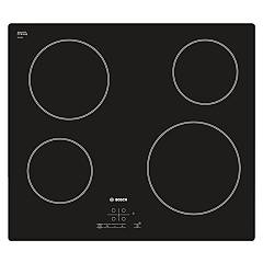Bosch Pke611b17e Electric hob cm. 60 - black ceramic glass Serie 4