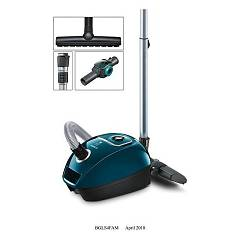 Bosch Bgls4fam Vacuum cleaner with bag - blue Cosyy'y Profamily