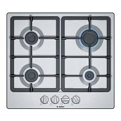 Bosch Pgp6b5b90 Gas hob 60 cm - stainless steel Serie 4