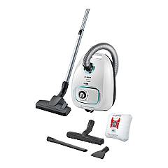 Bosch Bgbs4hyg1 Bag vacuum cleaner - white Serie 4