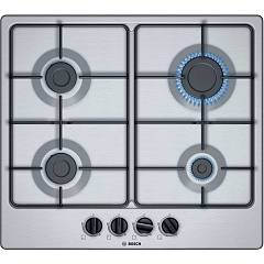 Bosch Pgp6b5b86 4-burner gas hob 58 cm - stainless steel 4