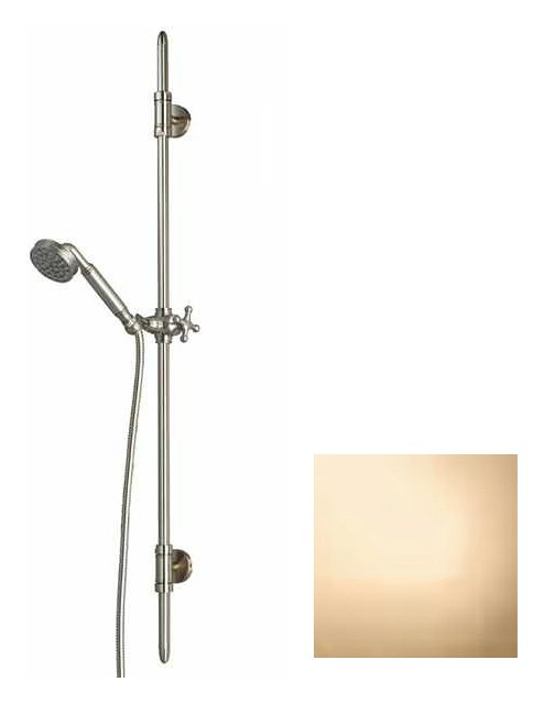 Photos 1: Bossini D19001.021 Liberty Shower rod h 110 - gold with shower