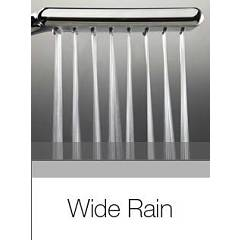 Photos 4: Bossini D46055.030 Flat Shower rod h 110 - chrome with hand shower