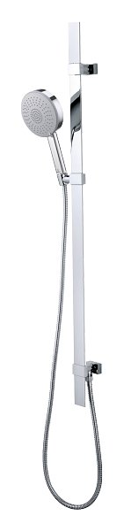 Photos 1: Bossini D48004.030 Flat Shower rod h 110 - chrome with hand shower