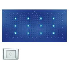 Bossini Wi0372.030 Duschkopf cm. 100x50 chromotherapie - chrom 1 jet Dream Xl Light Rgb