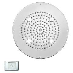 Bossini H37398.030 Douchette dametro cm. 37 - chrome 1 jet rond Dream Led Light