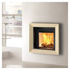 Caminetti Montegrappa Frame 01 Coating for light fireplace 01 - cm p01 - pellet montegrappa