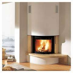 Caminetti Montegrappa Altea Destro Coating for fireplace mb r90 plus door slopes
