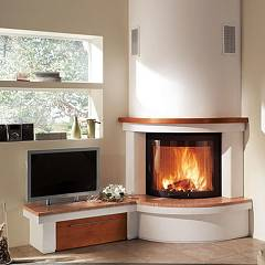 Caminetti Montegrappa ESPERIA SINISTRO - 6304017221 The lining for the fireplace mb r90 plus