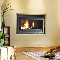 Caminetti Montegrappa Fc 90rl Hot air fireplace natural convection - 18 kw - antablished cast iron