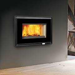 Caminetti Montegrappa Fc 90ga Hot air fireplace natural convection - 10 kw - cast iron