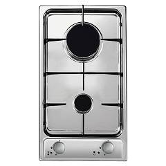 Candy Cdg 32/1spx Gas hob cm. 29 - stainless steel Domino