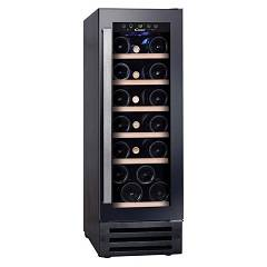 Candy Ccvb 30 Wine cellar built cm. 30 h. 82 - 19 bottles - black