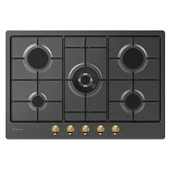 Candy Chw74wgtgh Hob cm. 75 - antracit Classic