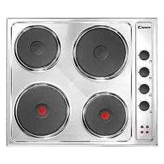 Candy Cle64x Electric hob cm. 58 - stainless steel