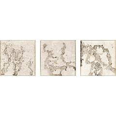 sale Cantori Flow Set Set Of 3 Paintings, 55 X 55 Cm