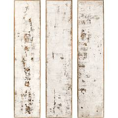 sale Cantori Fragment Sand Set Set Of 3 Paintings 35 X 160 Cm