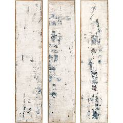 sale Cantori Fragment Sky Set Set Of 3 Paintings 35 X 160 Cm