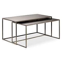 Cantori Narciso Set of two rectangular coffee tables