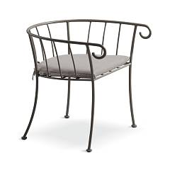 Cantori Bahamas New Iron armchair