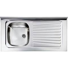 Cm Lavelli 031035 Sx Supporting sink cm. 100 x 50 pre-loaded stainless steel 1 layer left + right drawner Mondial Appoggio