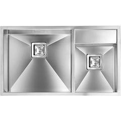 Cm Lavelli 012904 Sx Undermount sink cm. 86 x 50 brushed stainless steel - 1 bowl left + 1/2 right Ariel