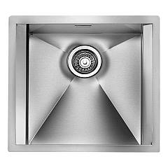 Cm Lavelli 015206 Semi-flush sink 50 x 45 cm 1 basin - satin stainless steel Focus