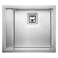 Cm Lavelli 015601.d2.01.2063 Semifilo sink 58 x 51 cm 1 right basin - brushed stainless steel Calypso
