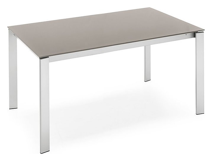 Photos 1: Connubia Calligaris EMINENCE CB/4724-MG 110 Extendible table l. 110 x 70 glass top