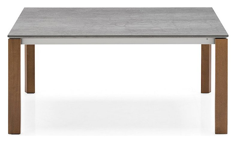 Photos 1: Connubia Calligaris EMINENCE CB/4724-WC 130 A Extendible table l. 130 x 90 - 1 extended ceramic floor