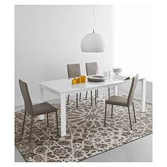 Photos 3: Connubia Calligaris EMINENCE CB/4724-WG 130 A Extendible table l. 130 x 90 - 1 extended glass top