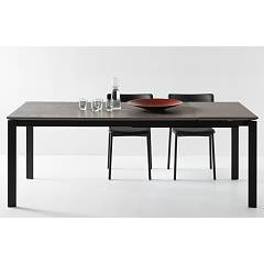 Photos 2: Connubia Calligaris EMINENCE CB/4724-MC 130 A Extendible table l. 130 x 90 - 1 extended ceramic floor