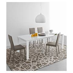 Photos 4: Connubia Calligaris EMINENCE CB/4724-MG 130 A Extendible table l. 130 x 90 - 1 extended glass top