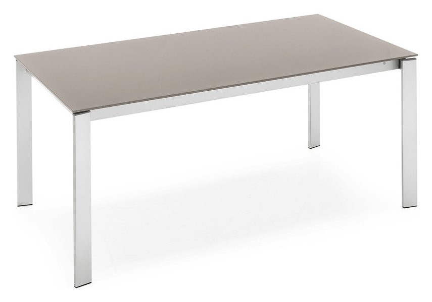 Photos 1: Connubia Calligaris EMINENCE CB/4724-MG 130 B Extendible table l. 130 x 90 - 2 glass floor layers