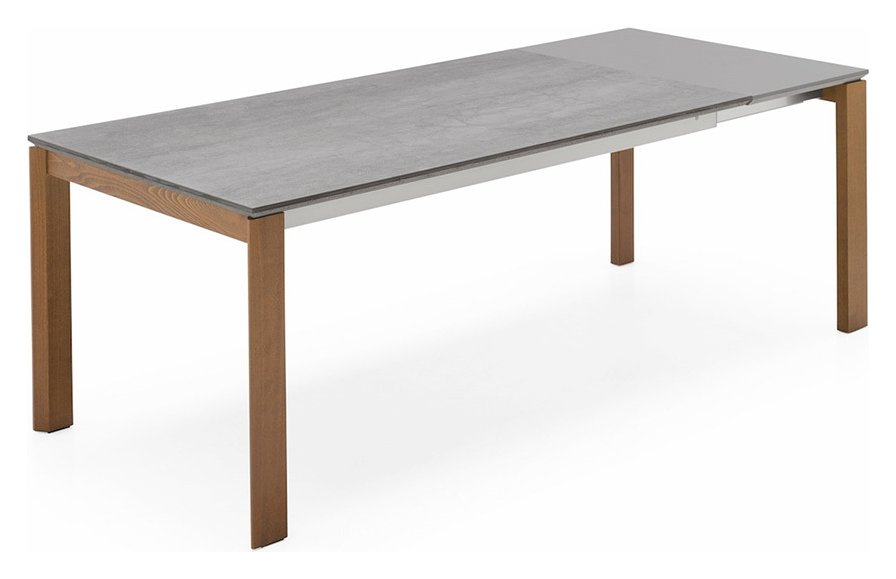Photos 1: Connubia Calligaris EMINENCE CB/4724-WC 160 A Extendible table l. 160 x 90 - 1 entirely floor in ceramic