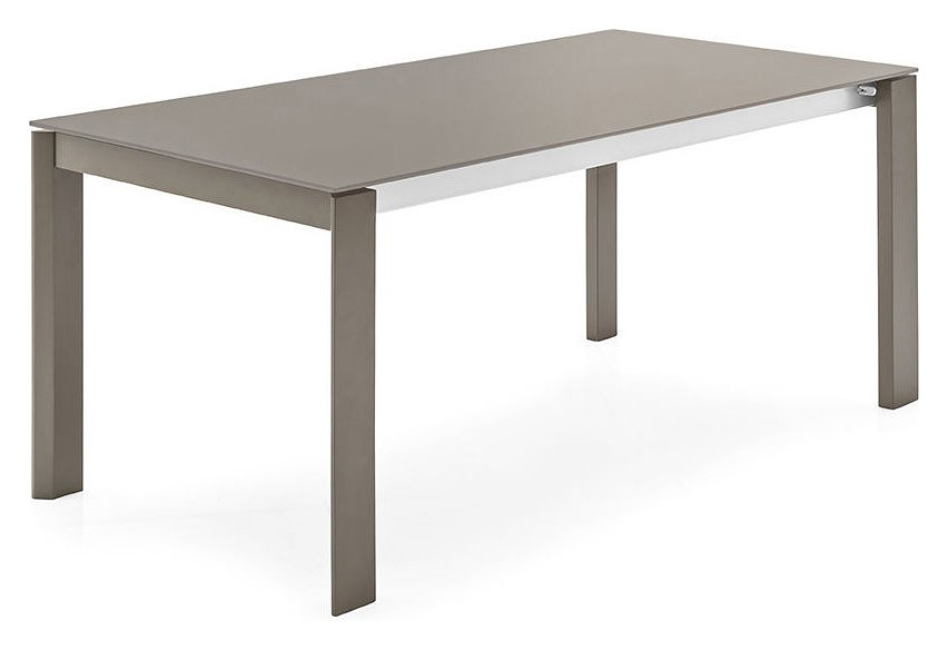Photos 1: Connubia Calligaris EMINENCE CB/4724-WG 160 A Extendible table l. 160 x 90 - 1 extension glass top