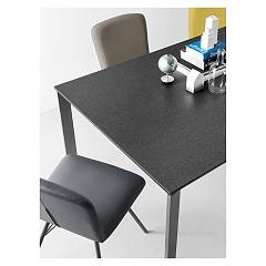 Photos 4: Connubia Calligaris EMINENCE CB/4724-MC 160 A Extendible table l. 160 x 90 - 1 entirely floor in ceramic