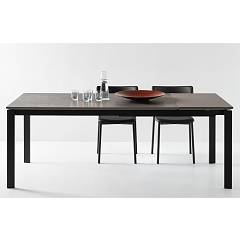 Photos 3: Connubia Calligaris EMINENCE CB/4724-MC 160 B Extendible table l. 160 x 90 - 2 ceramic floor layout