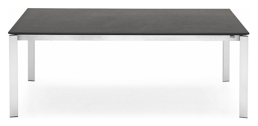 Photos 1: Connubia Calligaris EMINENCE CB/4724-MC 160 B Extendible table l. 160 x 90 - 2 ceramic floor layout