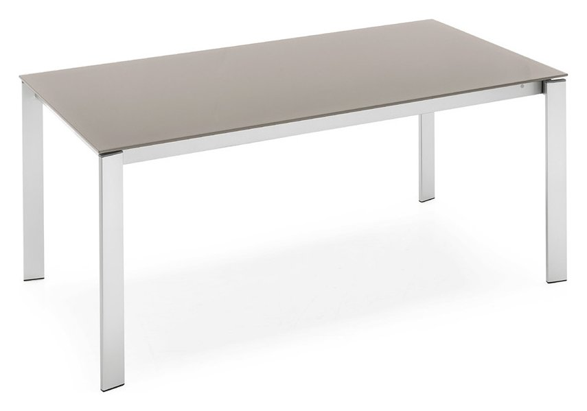 Photos 1: Connubia Calligaris EMINENCE CB/4724-MG 160 C Extendible table l. 160 x 90 - 3 glass floor layers