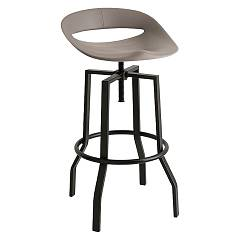 Connubia Calligaris Cosmopolitan Cb/1961 Revolving stool in metal and plastic
