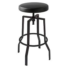 Connubia Calligaris Rocket Cb/1960-s Stool in metal and eco-leather