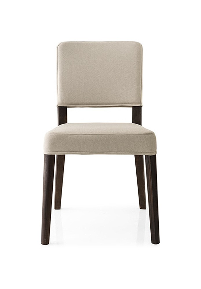 Photos 1: Connubia Calligaris AURORA CB/1693-C Chair in wood and fabric removable version