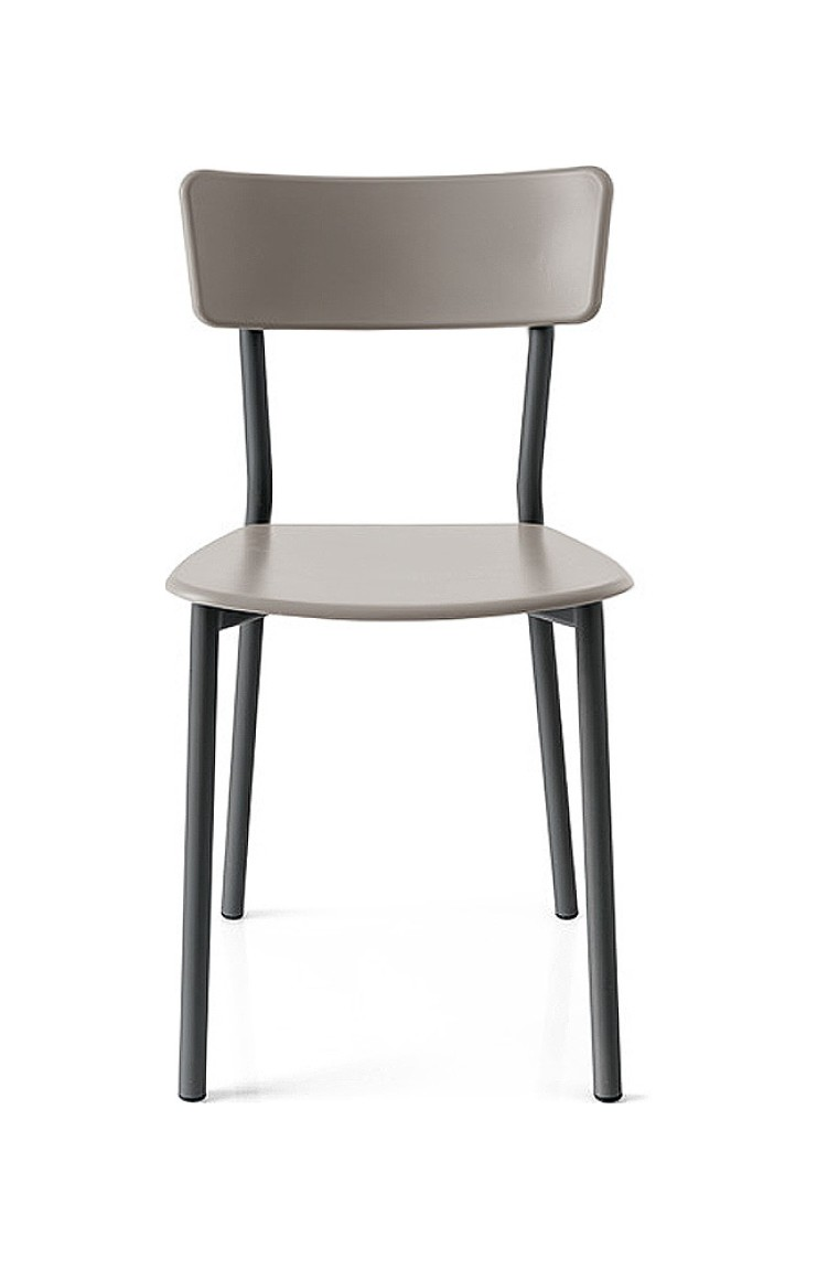 Photos 1: Connubia Calligaris JELLY METAL CB/1954 Metal and plastic chair