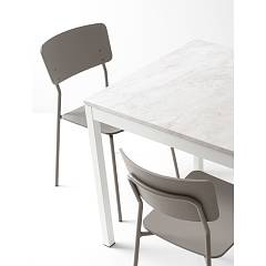 Photos 6: Connubia Calligaris SNACK CB/1956 Chair in metal and wood