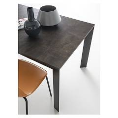 Photos 2: Connubia Calligaris BARON CB/4010-FML 110 Fixed table l. 110 x 70 wooden top