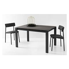 Photos 2: Connubia Calligaris BARON CB/4010-FMV 130 Fixed table l. 130 x 85 glass / ceramic top