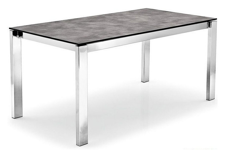 Photos 1: Connubia Calligaris BARON CB/4010-FMV 130 Fixed table l. 130 x 85 glass / ceramic top
