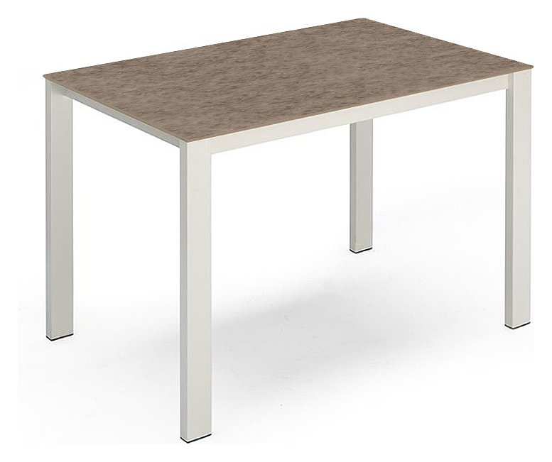 Photos 1: Connubia Calligaris BARON COUNTER CB/4010-FCMV 130 Fixed table l. 130 x 85 h.90 glass / ceramic top